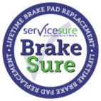 Brakes for life logo (BrakeSure from Service Sure)